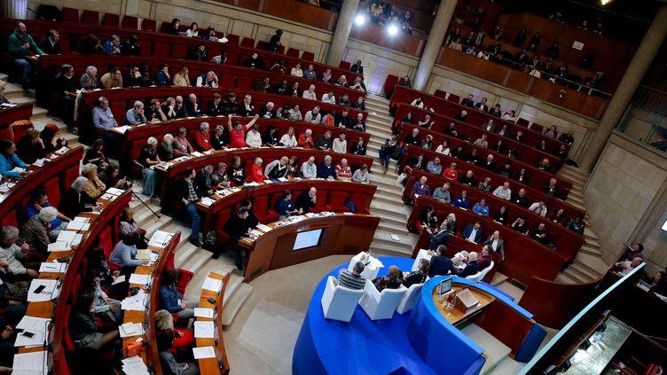 La Convention citoyenne pour le climat, le 18 novembre 2019 à Paris. (MAXPPP)