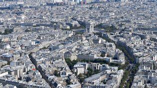 Vue aérienne de Paris, le 14 juillet 2018. (GERARD JULIEN / AFP)