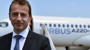 Le français Guillaume Faury nommé à la tête d'Airbus en remplacement de l'allemand Tom Enders. (PASCAL PAVANI / AFP)