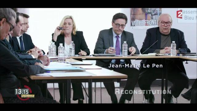 """13h15 le dimanche. Les Verbatims : le FN, un parti en crise avec """"Marine Le Pen"""" et """"Jean-Marie Le Pen"""""""