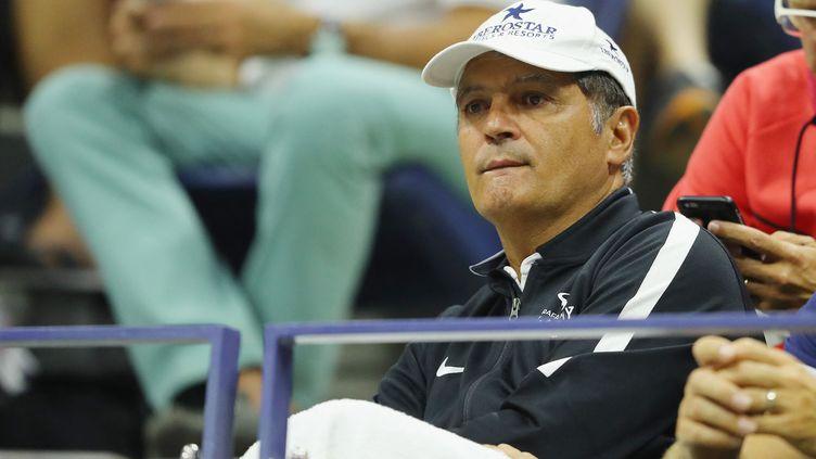 Tony Nadal devient le nouveau coach de Félix Auger-Aliassime, jeudi 8 avril. (RICHARD HEATHCOTE / GETTY IMAGES NORTH AMERICA)