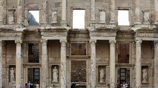 La bibliothèque de Celsius sur le site grec d'Ephèse à Selçuk (Turquie) (REUTERS - OSMAN ORSAL / X02255)