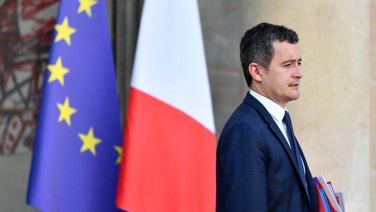 Gérald Darmanin, le ministre de l'Action et des Comptes publics, le 30 janvier 2019 à l'Elysée. (MAXPPP)