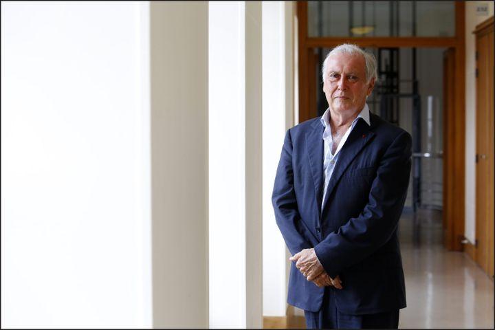 Jean-Francois Delfraissy, président du Conseil scientifique, à Paris le 27 juin 2017. (LUC NOBOUT / MAXPPP)