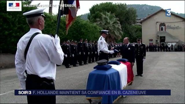 Sécurité : Hollande soutient Cazeneuve
