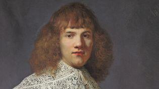 """Ce """"Portrait d'un jeune homme"""" de Rembrandt vient d'être découvert par l'expert Jan Six (détail)"""