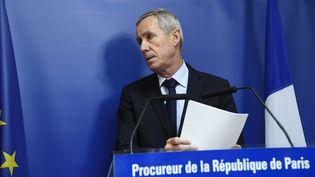 François Molins, le 9 septembre 2016 à Paris. (BERTRAND GUAY / AFP)