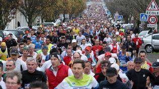 La montée de l'Avenue Guiton lors du 19e Marathon de la Rochelle en 2009 (photo d'archive). (JULLIAN DOMINIQUE / MAXPPP TEAMSHOOT)