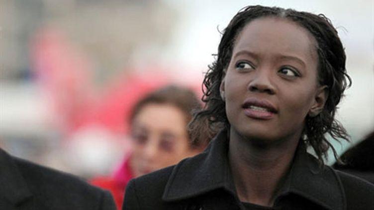 Rama Yade, la secrétaire d'Etat aux Sports, le 30 octobre 2010 (AFP - Cyril Folliot)