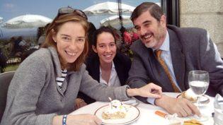Ana, Pedro et leur fille Maria ont tous connu une expérience étudiante à Paris grâce à Erasmus. (FAMILLE VIDAL-ARAGON)