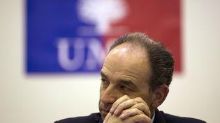 Le président de l'UMP, Jean-François Copé, le 3 juillet 2013 à Paris. (KENZO TRIBOUILLARD / AFP)