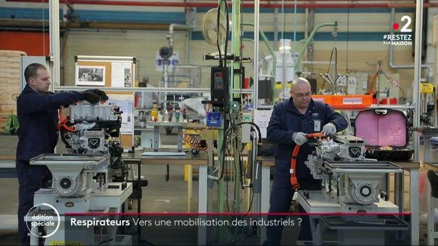 Coronavirus: vers une mobilisation des industriels?