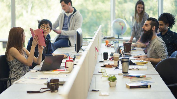 815.000 nouvelles entreprises, soit une progression de près de 18% en 2019, par rapport à l'année précédente. (Photo illustration). (MAXPPP)