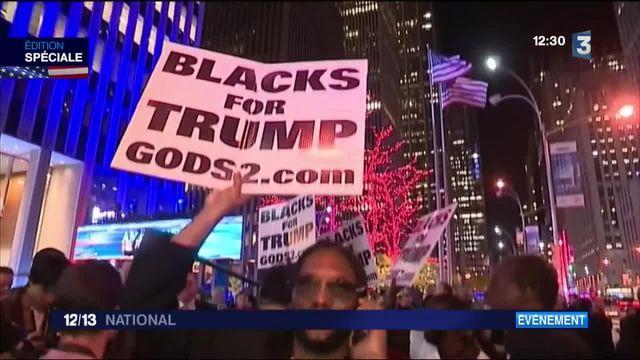 Présidentielle américaine : la soirée vu du côté des militants de Donald Trump