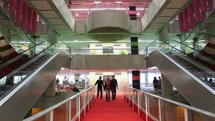 La Bibliothèque municipale de Bordeaux en 2013. (LARTIGUE STEPHANE / MAXPPP)