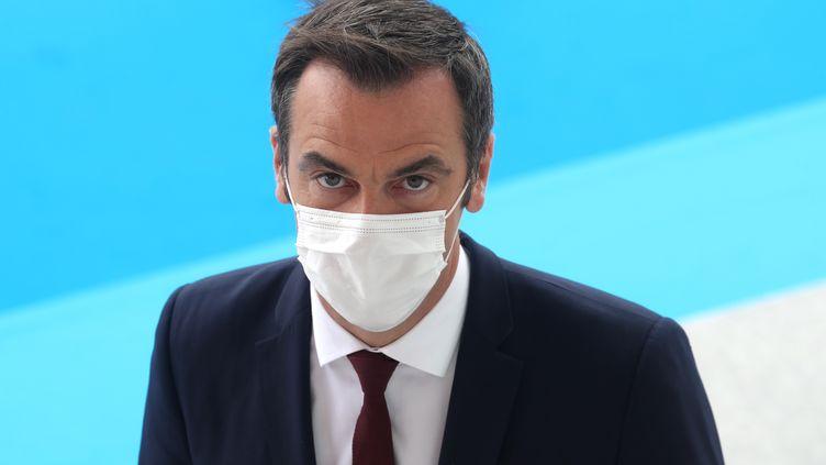 Le ministre de la Santé, Olivier Véran, participe aux cérémonies du 14 juillet 2020, à Paris. (LUDOVIC MARIN / AFP)