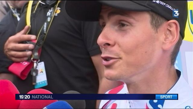 Tour de France 2017 : victoire du Français Warren Barguil