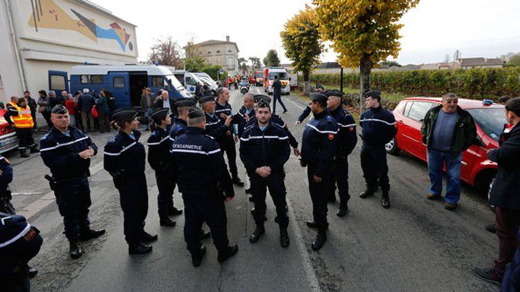 (L'accident s'est produit à Puisseguin dans un virage connu pour sa dangerosité © REUTERS/Regis Duvignau)