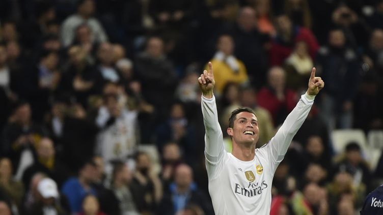 La joie de Cristiano Ronaldo (PIERRE-PHILIPPE MARCOU / AFP)