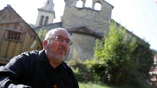 Le prêtre Pierre Vignon, le 21 août 2018. (HEBRARD FABRICE / MAXPPP)
