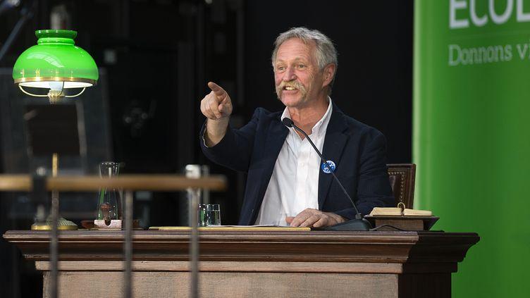 L'eurodéputé Europe Ecologie-Les Verts, José Bové, le 22 mai 2014 à Paris. (JOEL SAGET / AFP)