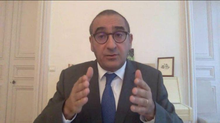 Laurent Nuñez,coordonnateur national du renseignement et de la lutte contre le terrorisme, invité de franceinfo dimanche 18 octobre. (FRANCEINFO)