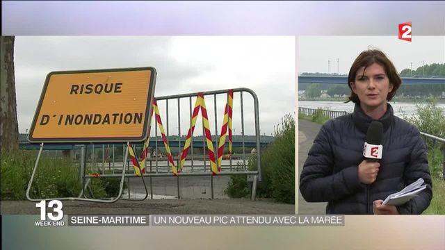 Seine-Maritime : un nouveau pic de crue attendu avec la marée