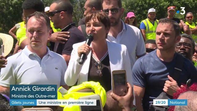 """""""Gilets jaunes"""" : la ministre des Outre-mer en première ligne"""