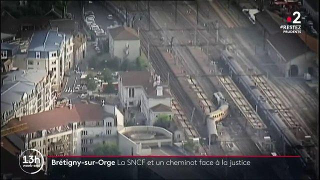 La SNCF et un cheminot renvoyés en correctionnel après le déraillement d'un train à Brétigny-sur-Orge