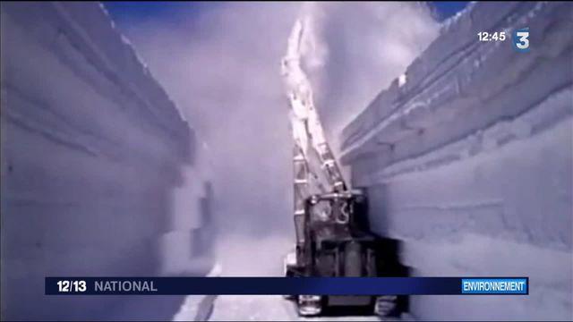 Réchauffement climatique : une base nucléaire de la guerre froide sort du sol