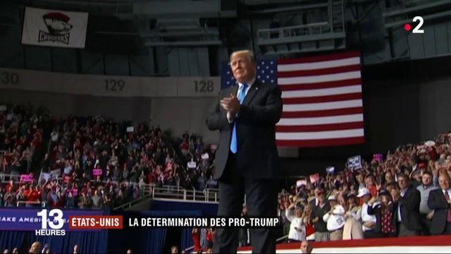 États-Unis : les pro-Trump déterminés à la veille des élections de mi-mandat