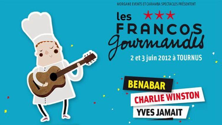 Les Franco Gourmandes, à Tournus les 2 et 3 juin 2012.  (DR)
