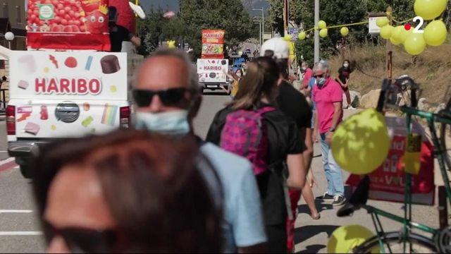 Tour de France : la caravane fait de la résistance