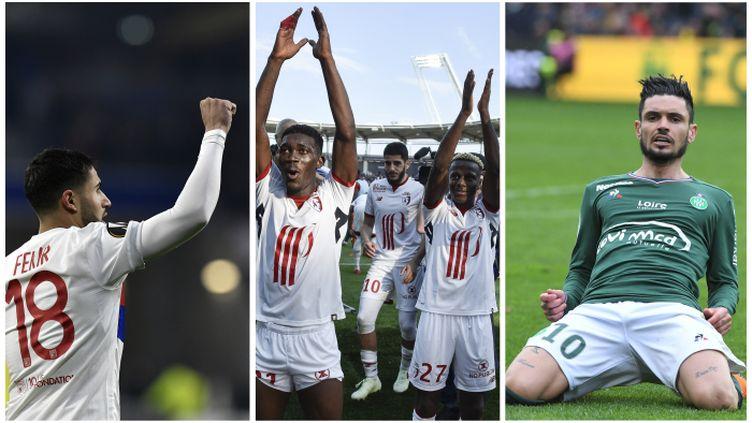 Lyon, Lille et Saint-Etienne jouent gros en cette fin de championnat