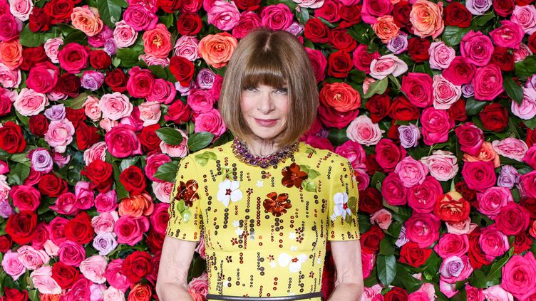 Anna Wintour, juin 2018 à New York  (Getty Images)