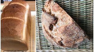 Pain de mie et pains spéciaux ont la cote, même si la baguette reste emblématique du pain français. (Laurent Mariotte / Radio France)