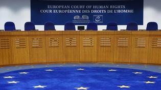 La Cour européenne des droits de l'Homme à Strasbourg, le 7 février 2019. (FREDERICK FLORIN / AFP)
