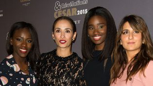 Assa Sylla, Rachida Brakni, Karidja Toure et Geraldine Nakache durant la soirée révélations César  (Sipa)