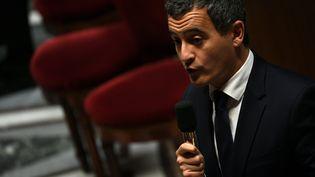 Le ministre de l'Action et des comptes publics, Gérald Darmanin, le 15 octobre 2019 à Paris. (CHRISTOPHE ARCHAMBAULT / AFP)