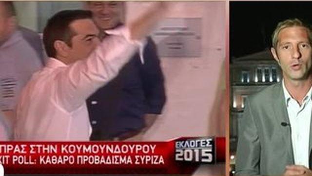 Élections en Grèce : Alexis Tspiras remporte son pari