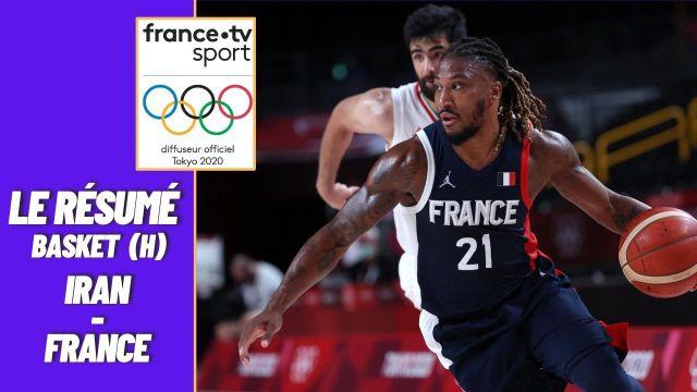 L'équipe de France de basket termine sa phase de groupes en beauté avec une victoire 79-62 face à l'Iran. Les Bleus terminent premiers avec 3 victoires en 3 matches. Rendez-vous mardi 3 août pour leur quart de finale.