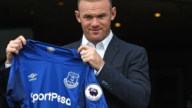 Le nouveau joueur d'Everton, Wayne Rooney. (PAUL ELLIS / AFP)