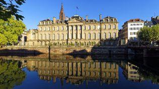 Le palais Rohan, qui abrite le musée des Beaux-Arts, le musée des Arts décoratifs et le Musée archéologique de Strasbourg (9 septembre 2020) (MATTES RENE / HEMIS.FR / HEMIS.FR)