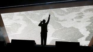 Kendrick Lamar à Coachella le 16 avril 2017.  (Christopher Polk / GETTY IMAGES NORTH AMERICA / AFP)