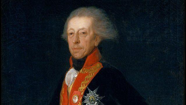 """Général Antonio Rocardo"" par Goya  (Musée du Prado )"