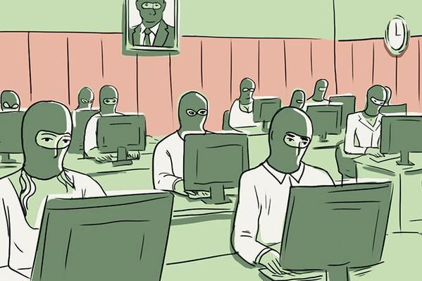 La mystérieuse usine à troll du Kremlin (Snob.ru)