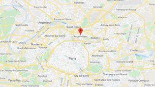 Aubervilliers (Seine-Saint-Denis) (GOOGLE MAPS)