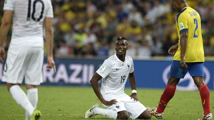 Le milieu de terrain français Paul Pogba n'a pas été très en vue contre l'Equateur