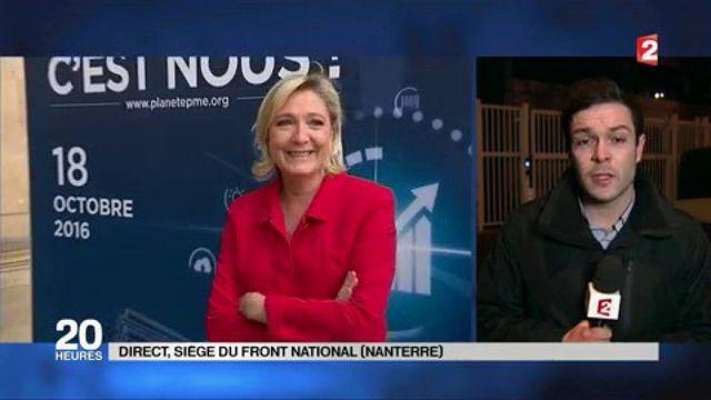 Perquisition au Front national : que risque Marine Le Pen ?