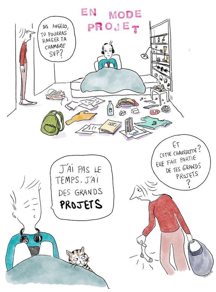 """En confinement avec un ado, """"Les chroniques d'Angelo"""", jour 22 (9 avril 2020) (Laurence Houot / FRANCEINFO CULTURE)"""